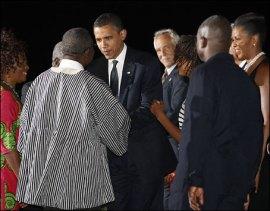 President Obama in hana